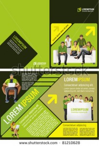stock-vector-yellow-green-and-black-template-for-advertising-brochure-with-students-81210628