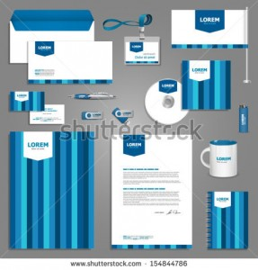 stock-vector-blue-stationery-template-design-with-stripes-documentation-for-business-154844786